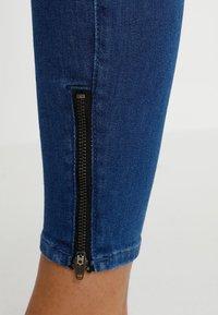 Lee - SCARLETT HIGH ZIP - Jeans Skinny Fit - blue denim - 5