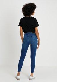 Lee - SCARLETT HIGH ZIP - Jeans Skinny Fit - blue denim - 2