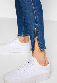 Lee - SCARLETT HIGH ZIP - Jeans Skinny Fit - mid candy - 3
