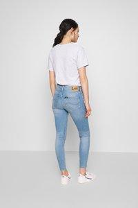 Lee - SCARLETT HIGH ZIP - Jeansy Skinny Fit - broken blue - 2