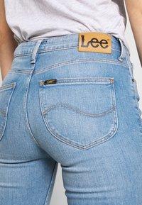 Lee - SCARLETT HIGH ZIP - Jeansy Skinny Fit - broken blue - 6