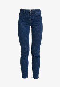 Lee - SCARLETT HIGH SIDEPANEL - Jeans Skinny Fit - dark shade - 4