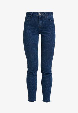 SCARLETT HIGH SIDEPANEL - Jeans Skinny Fit - dark shade