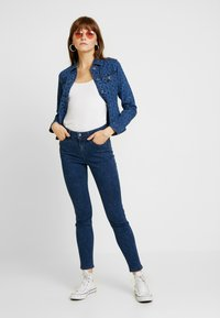 Lee - SCARLETT HIGH SIDEPANEL - Jeans Skinny Fit - dark shade - 1
