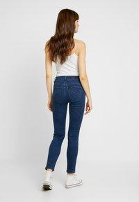 Lee - SCARLETT HIGH SIDEPANEL - Jeans Skinny Fit - dark shade - 2