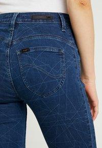 Lee - SCARLETT HIGH SIDEPANEL - Jeans Skinny Fit - dark shade - 3