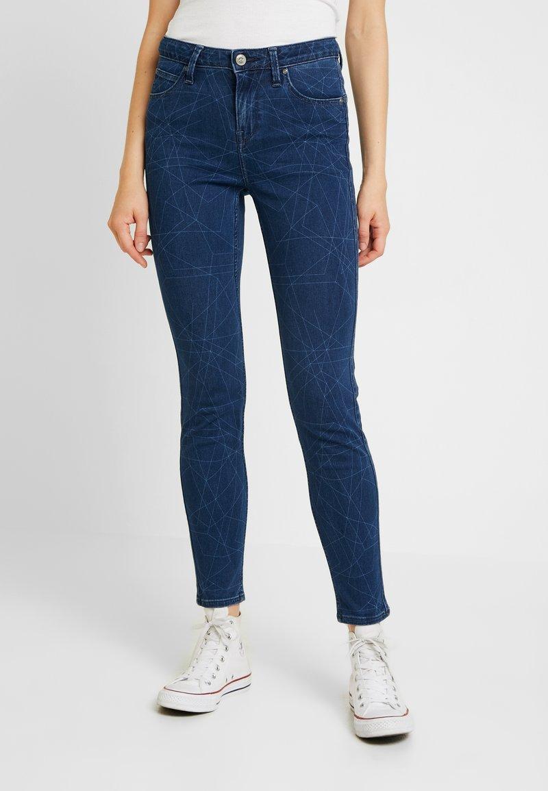Lee - SCARLETT HIGH SIDEPANEL - Jeans Skinny Fit - dark shade