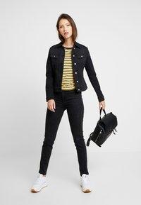 Lee - SCARLETT HIGH SIDEPANEL - Jeans Skinny Fit - black denim - 1