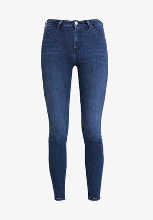 SCARLETT HIGH - Jeans Skinny Fit - sitka worn in