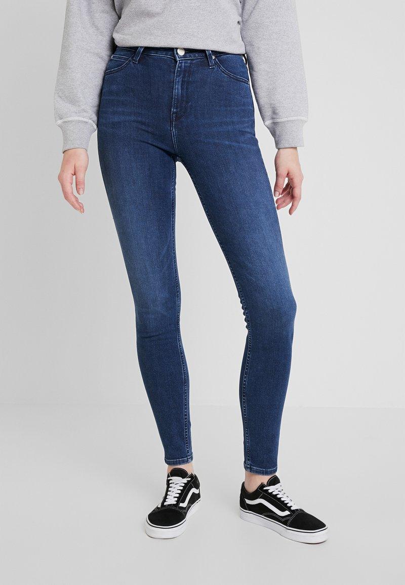 Lee - SCARLETT HIGH - Jeans Skinny - sitka worn in