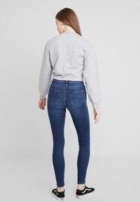 Lee - SCARLETT HIGH - Jeans Skinny - sitka worn in - 3