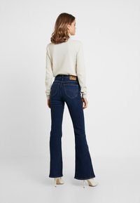 Lee - BREESE - Flared jeans - dark wardell - 2