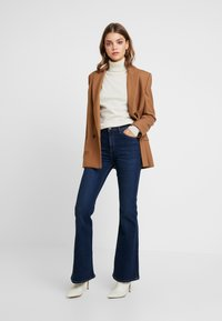 Lee - BREESE - Flared jeans - dark wardell - 1