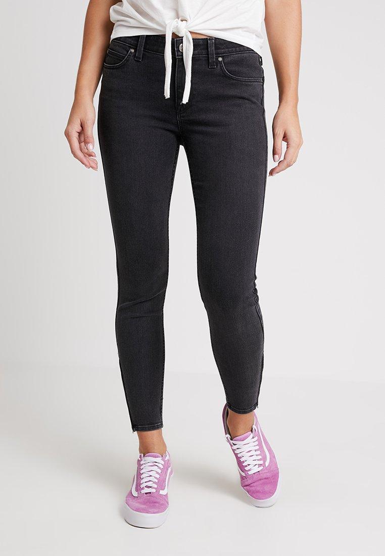 Lee - SCARLETT CROPPED ZIP - Jeans Skinny Fit - body optix