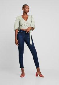 Lee - SCARLETT HIGH BODY OPTIX - Jeans Skinny Fit - after night - 1