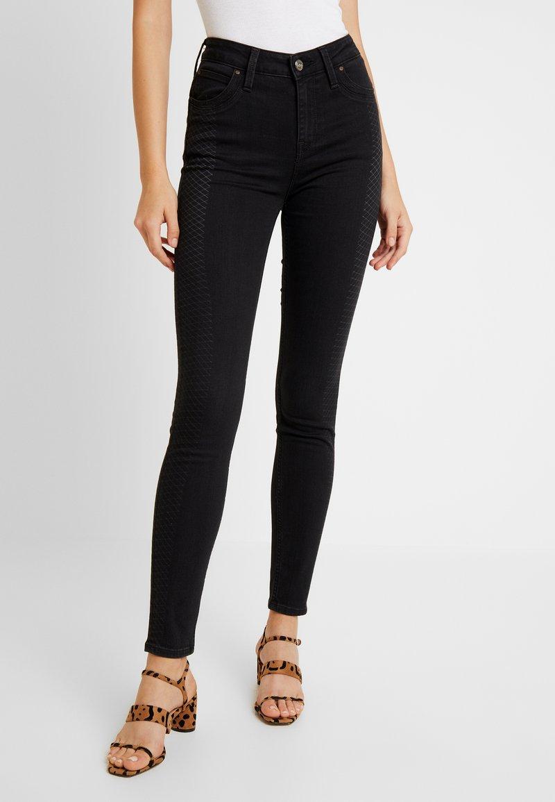 Lee - SCARLETT HIGH BODY OPTIX - Jeans Skinny Fit - la scrape