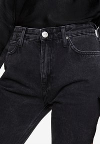 Lee - CAROL - Straight leg jeans - black aurora - 4