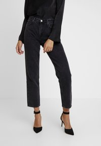 Lee - CAROL - Straight leg jeans - black aurora - 0