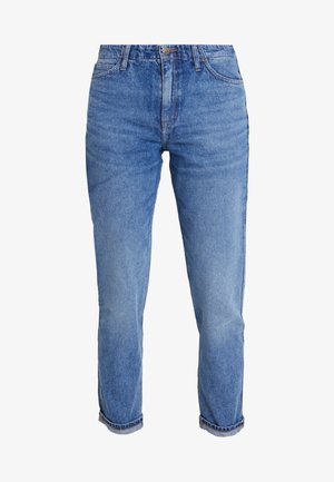 TAILORED MOM - Jeans straight leg - light stone