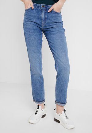 TAILORED MOM - Straight leg jeans - light stone