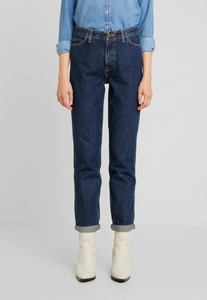 TAILORED MOM - Jeans straight leg - dark worn