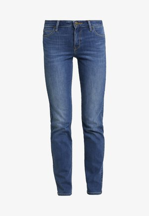 MARION - Jeans Straight Leg - stone blue denim