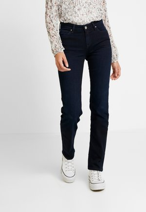 MARION - Straight leg jeans - dark mulberry