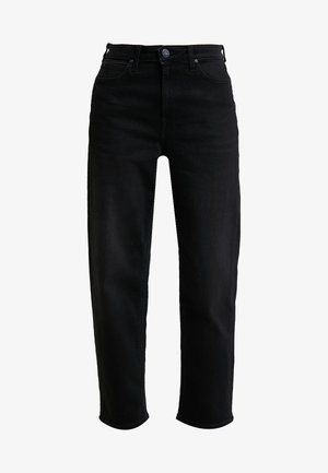 5 POCKET WIDE LEG - Džíny Straight Fit - black tyro