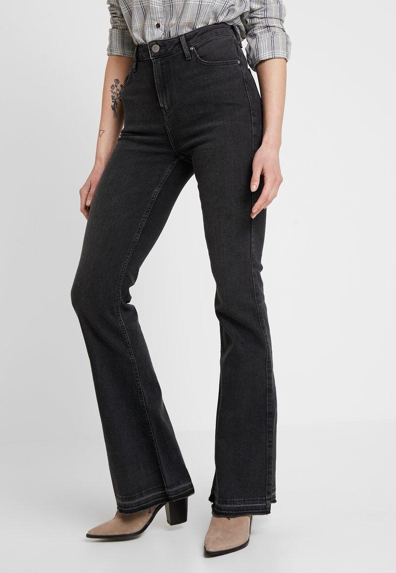 Lee - BREESE - Flared jeans - raw denim