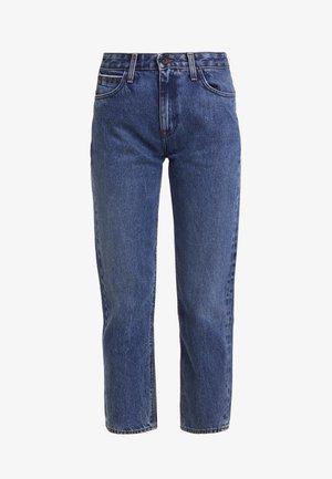 CAROL SUSTAINABLE - Jeans Straight Leg - blue denim
