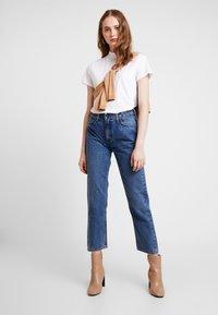 Lee - CAROL SUSTAINABLE - Straight leg jeans - blue denim - 1