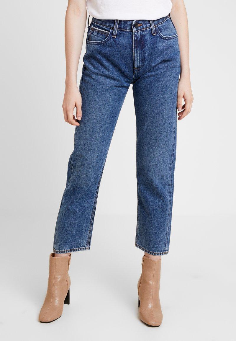 Lee - CAROL SUSTAINABLE - Straight leg jeans - blue denim