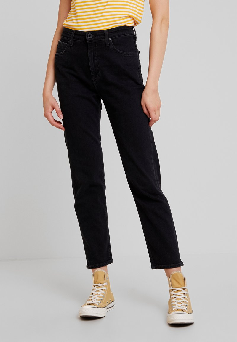 Lee - CAROL SUSTAINABLE - Jeans Straight Leg - black used