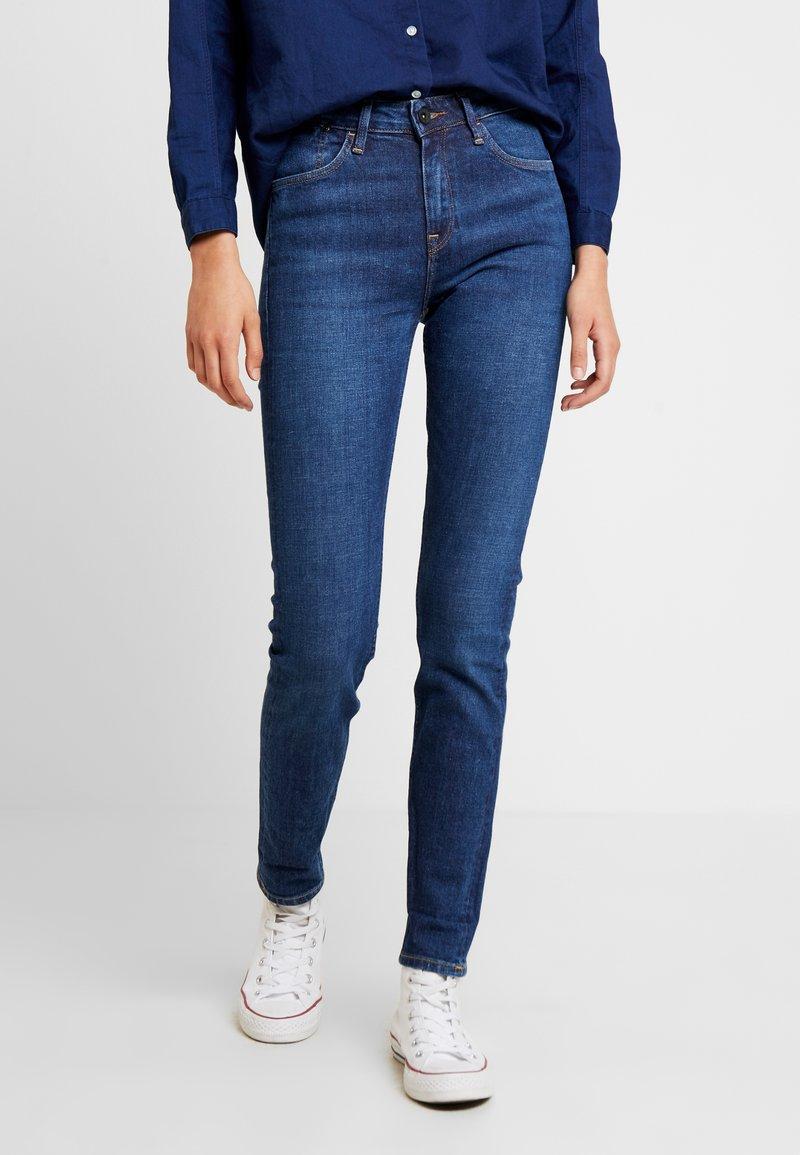 Lee - SCARLETT HIGH SUSTAINABLE - Jeans Skinny Fit - dark-blue denim