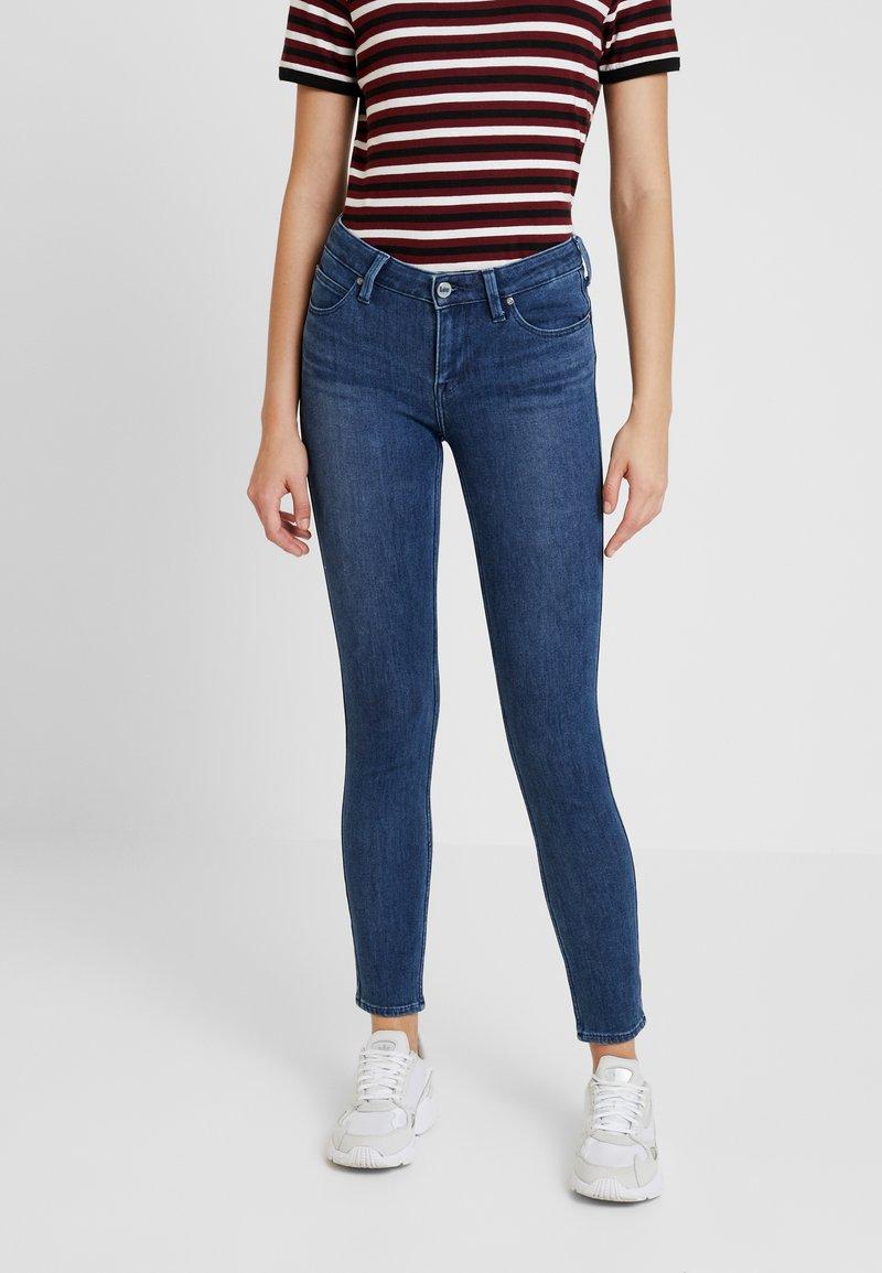 Lee - SCARLETT BODY OPTIX - Jeans Skinny Fit - blue lux