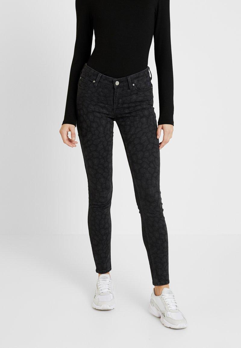 Lee - SCARLETT BODY OPTIX - Jeans Skinny Fit - faded black