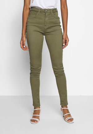 SCARLETT SUPER HIGH BODY - Jeans Skinny Fit - lichen green