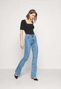 Lee - SUPER HIGH FLARE OPTIX - Jeans a zampa - brighton rock - 1
