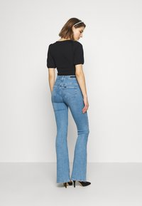 Lee - SUPER HIGH FLARE OPTIX - Jeans a zampa - brighton rock - 2