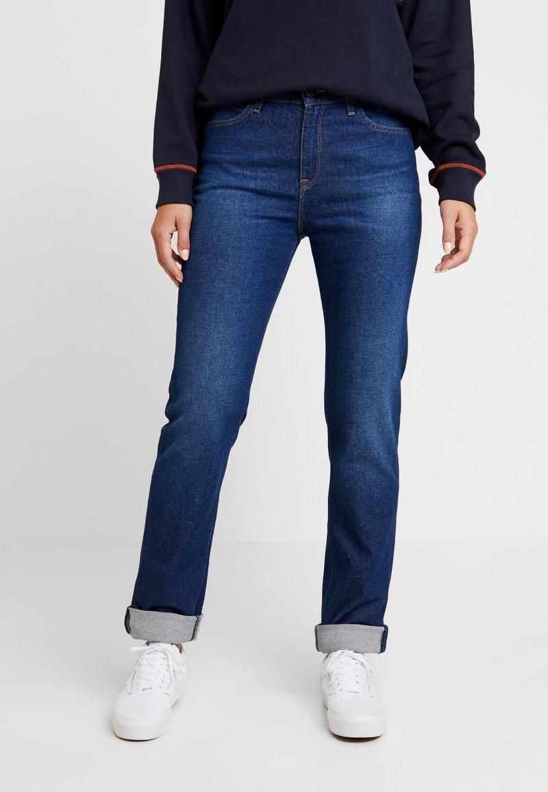 Lee - CAROL - Straight leg jeans - dark garner