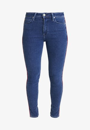 SCARLETT PIPING - Jeans Skinny Fit - red stowe