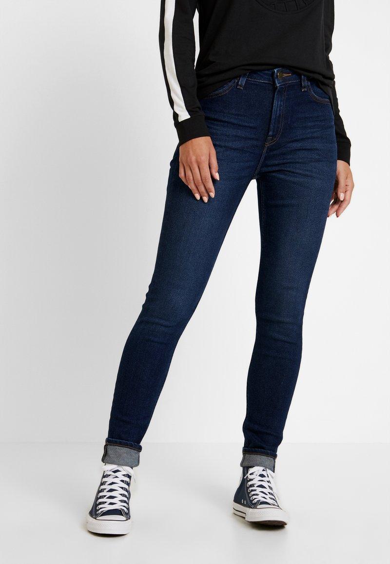 Lee - IVY - Jeans Skinny Fit - dark wardell