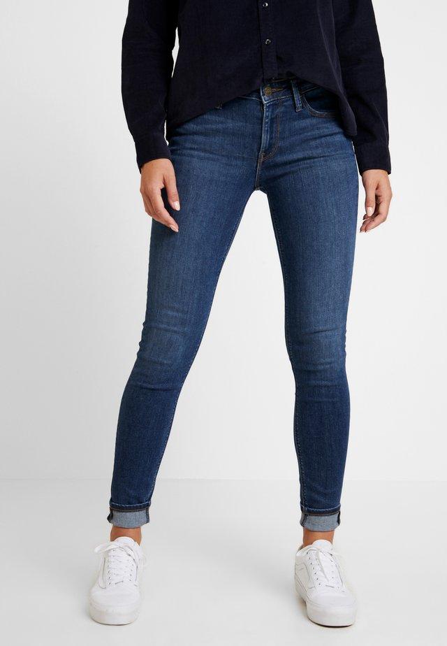 SCARLETT - Jeansy Skinny Fit - dark ulrich