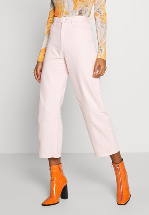 WIDE LEG - Jeansy Relaxed Fit - crystal pink