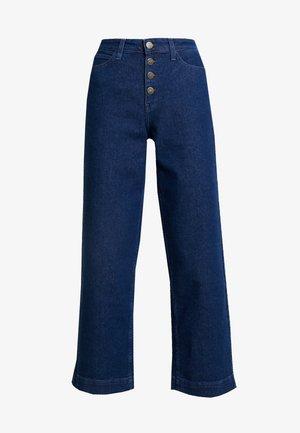 WIDE LEG - Jeans baggy - dark wilma
