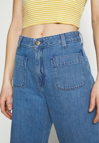 Lee - WIDE LEG - Relaxed fit jeans - light drape - 3