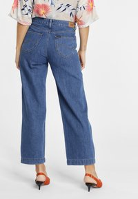 Lee - WIDE LEG - Relaxed fit jeans - dark blue