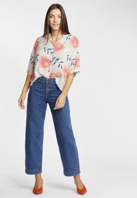 Lee - WIDE LEG - Relaxed fit jeans - dark blue - 1