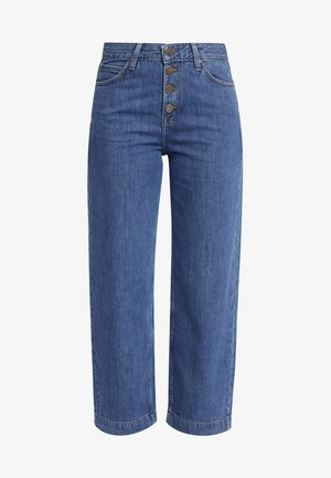 WIDE LEG - Relaxed fit jeans - dark blue