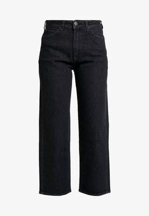 WIDE LEG - Jeans relaxed fit - black denim